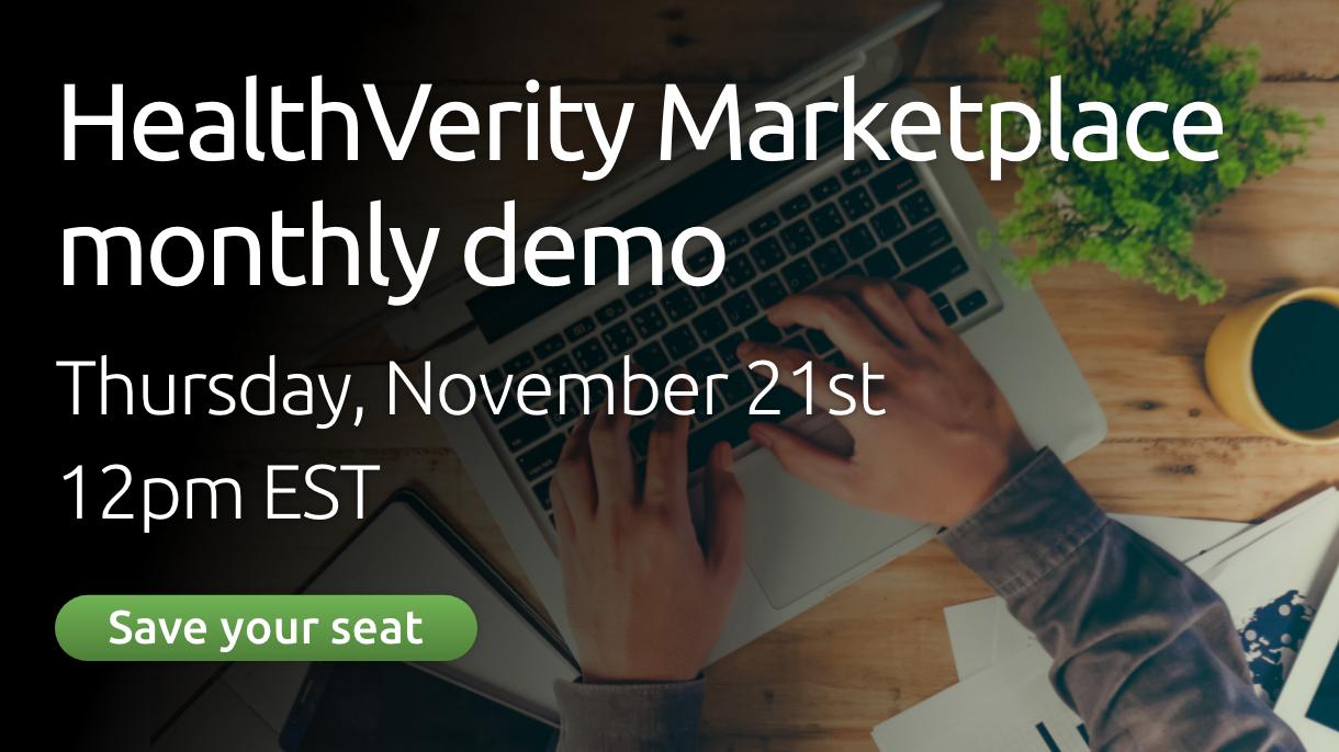 HealthVerity Marketplace Demo