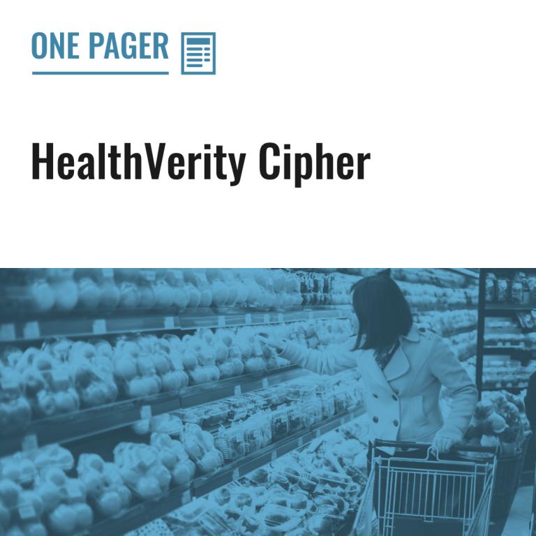 HealthVerity Cipher