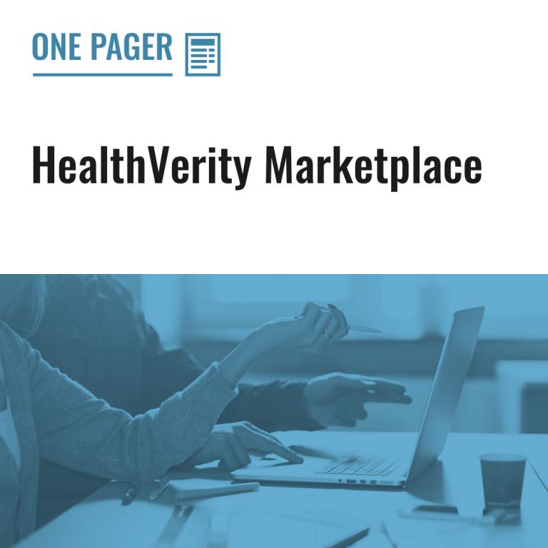 HealthVerity Marketplace