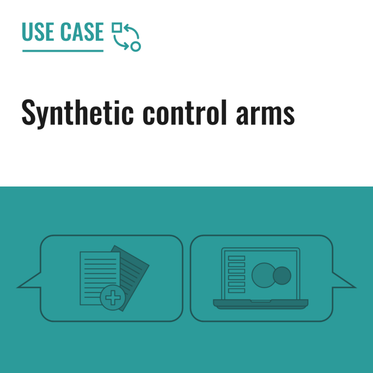 Synthetic control arms