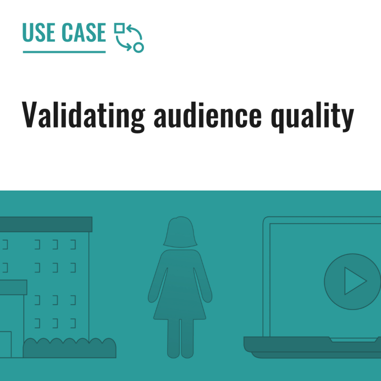 Validating audience quality