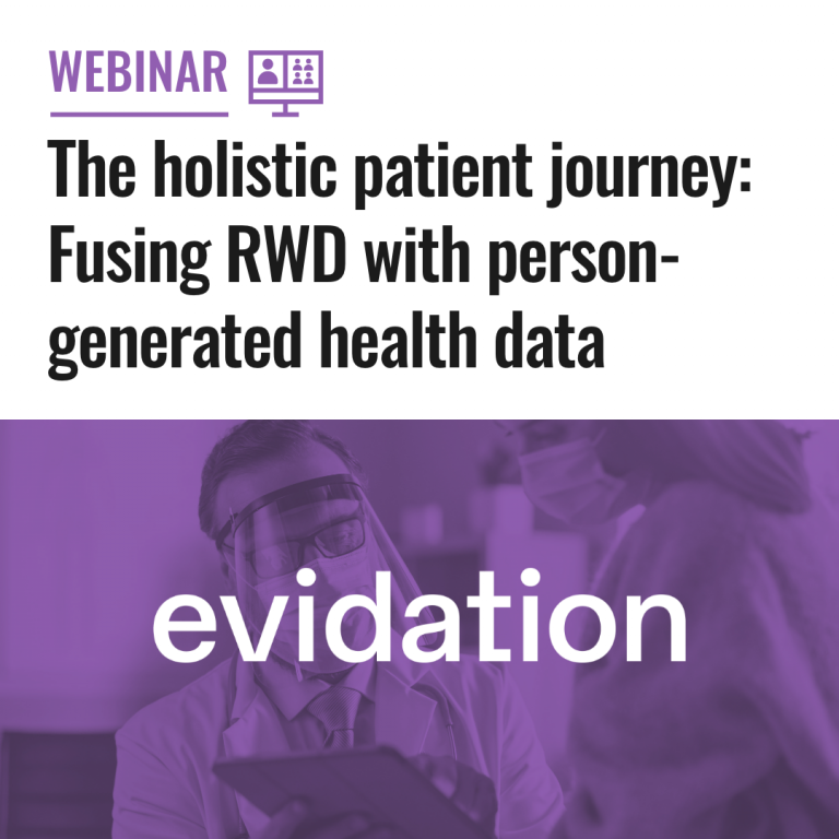 The holistic patient journey Fusing RWD with person-generated health data