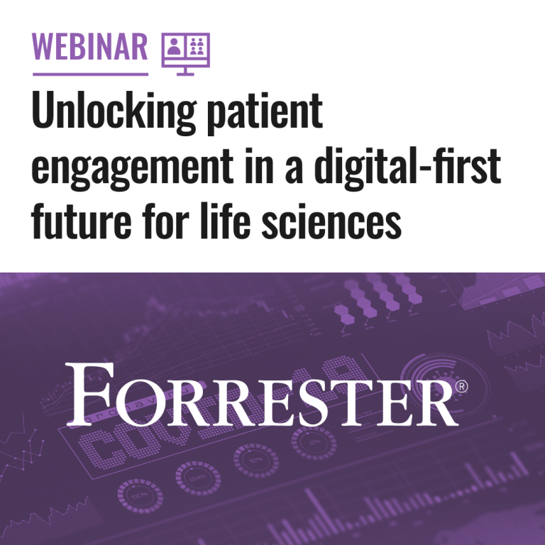 Unlocking patient engagement in a digital-first future for life sciences