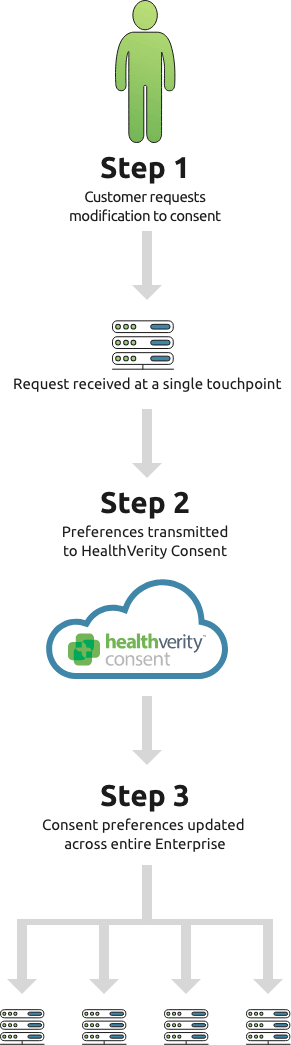 HealthVerity Consent steps chart